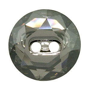 Swarovski 3014 Sew-On Rivoli Round Button Crystal AB 14x3.5mm - 2τεμ