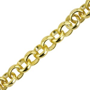 Αλυσίδα Beadalon Quick Links Large Rolo 6mm - Gold Plated - 49cm