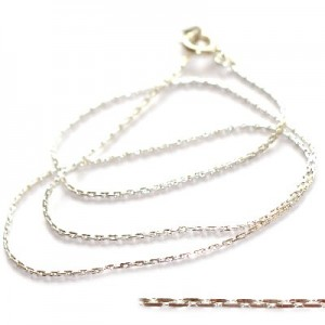 Αλυσιδα Necklace Silver Plated 45cm - 1τεμ