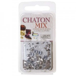 Swarovski Chaton Mix - Crystal ~4gr