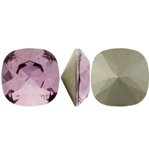 Swarovski 4470 Square Rhinstone Crystal Antique Pink 10mm - 1τεμ