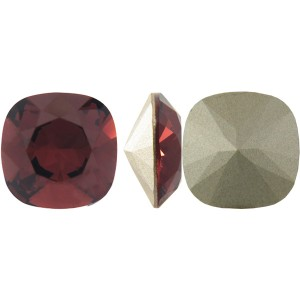 Swarovski 4470 Square Rhinstone Burgundy 10mm - 1τεμ