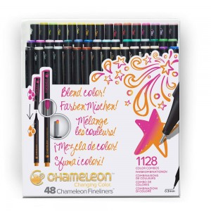 Σετ Chameleon™ Fineliners - Brilliant Colors - 48τεμ
