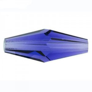 Swarovski 5205 XILION Bicone Elongated Sapphire 15x6mm - 8τεμ