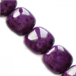Marble Dyed Round Amethystine 6x6x4mm ~65τεμ