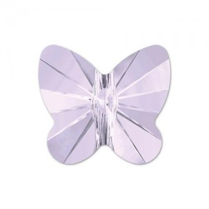 Swarovski 5754 Butterfly Smoky Mauve 6mm - 5τεμ