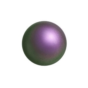 Swarovski 5810 (943) Round Iridescent Purple Pearl Ø10mm - 10τεμ