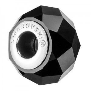 Swarovski 5948 BeCharmed Briolette Jet 14x10mm - 1τεμ