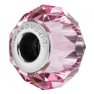 Swarovski 5948 BeCharmed Briolette Light Rose 14x10mm - 1τεμ