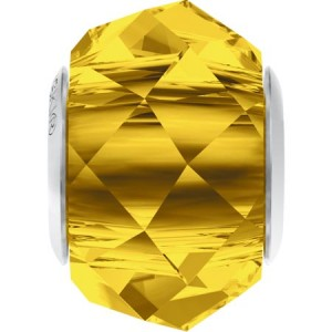 Swarovski 5948 BeCharmed Briolette Light Topaz 14x10mm - 1τεμ