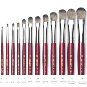 Πινέλα Isabey 6159 Memory Oil Brush