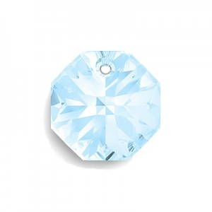 Swarovski 6401 Octagon Aquamarine 12mm - 4τεμ