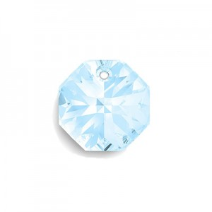 Swarovski 6401 Octagon Aquamarine 8mm - 6τεμ