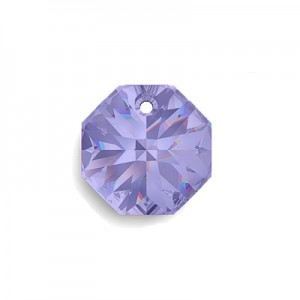 Swarovski 6401 Octagon Tanzanite 8mm - 6τεμ