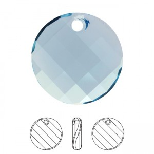 Swarovski 6621 Twist - Aquamarine 18x6mm - 1τεμ