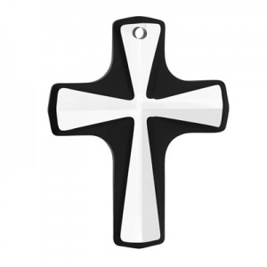 Swarovski 6860 Cross Pendant Crystal Cosmojet 38x29mm -1τεμ