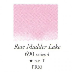 Χρώμα Ακουαρέλας Sennelier Half Pan - 690 Rose Madder Lake