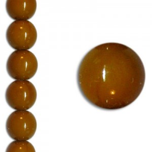 Χάντρα Glass Pearl Party Golden Taupe 8mm ~22τεμ