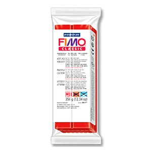 Fimo Classic 2 Red - 350gr