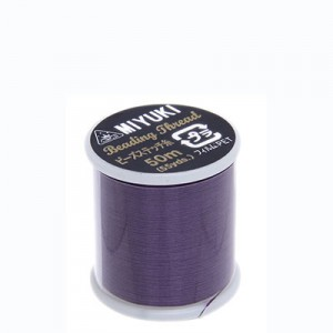 Miyuki Nylon Νήμα - Purple - Ø0.25mm - 50m