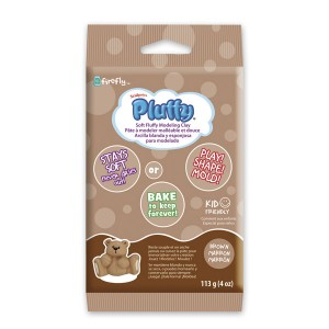 Πηλός Pluffy Brown 113gr