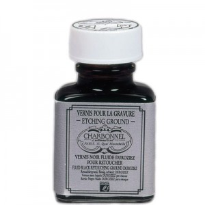Charbonnel Vernis Duroziez Black Retouching Ground - 75ml