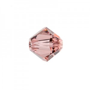 Swarovski 5328 XILION Bicone Blush Rose 4mm - 30τεμ