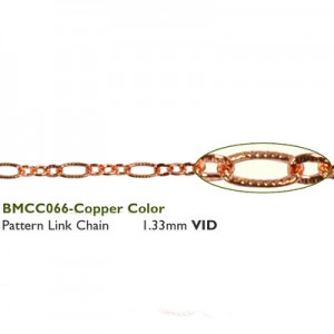 Αλυσίδα Pattern - 1.33mm Copper 50cm
