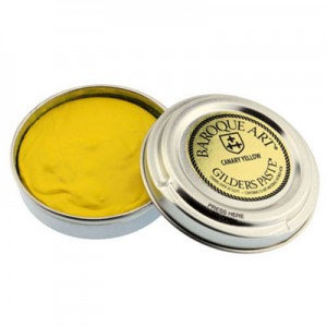 Baroque Art Gilders Paste - Canary Yellow - 30ml