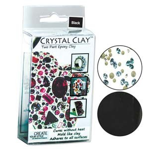 Πηλός Crystal Clay - Black - 50gr