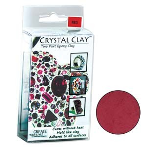 Πηλός Crystal Clay - Red - 50gr