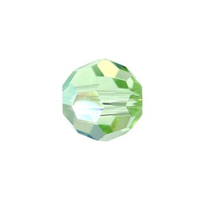 Swarovski 5000 Faceted Round Chrysolite AB 6mm - 10τεμ