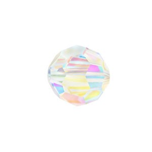 Swarovski 5000 Faceted Round Crystal AB 2X 4mm - 10τεμ