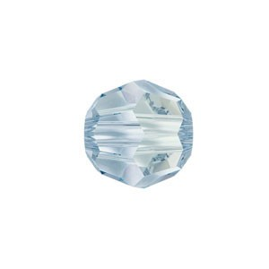 Swarovski 5000 Faceted Round Crystal Blue Shade 4mm - 10τεμ