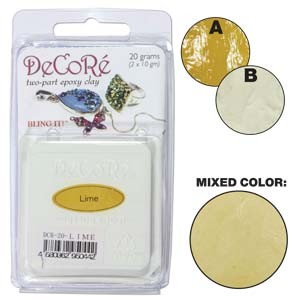 Πηλός Decore Clay - Lime - 20gr