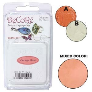 Πηλός Decore Clay - Vintage Rose - 20gr