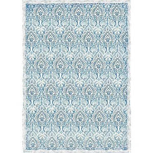 Stamperia Ριζόχαρτο για Decoupage - Damask Blue- A3