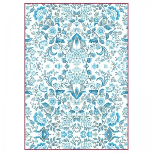 Stamperia Ριζόχαρτο για Decoupage - Light Blue Arabesque - A4