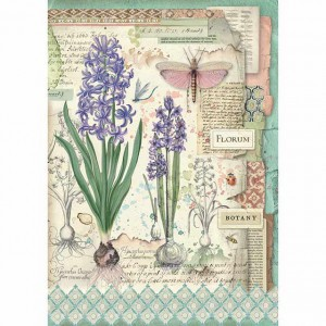 Stamperia Ριζόχαρτο για Decoupage - Botanic Bulbs - A4