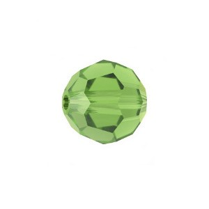 Swarovski 5000 Faceted Round Fern Green 8mm - 6τεμ