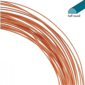 Half Round 0.72mm 6.4m Copper