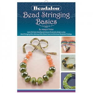 Εγχειρίδιο με Οδηγίες Bead Stringing Basics Booklet, by Margot Potter