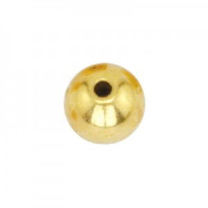 Τερματικά για Memory Wire - Round Ø5mm - Gold Color - 144τεμ