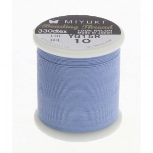 Miyuki Nylon Νήμα - Light Blue - Ø0.25mm - 50m
