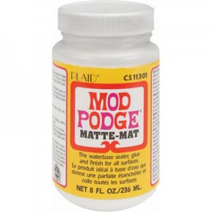 Κόλλα Decoupage Mod Podge® MAT - 236ml