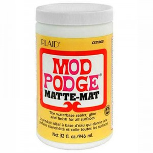 Κόλλα Decoupage Mod Podge® MAT - 946ml