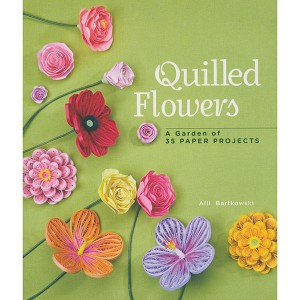 Βιβλίο Quilled Flowes - A garden of 35 Paper Projects