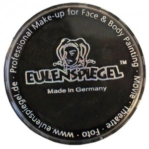 Χρώμα Μακιγιάζ Facepaint Bodypaint Eulenspiegel Profi - Black - 30gr/20ml