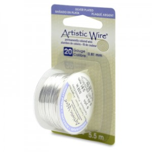 Σύρμα Artistic Wire - Ø0.81mm - Επάργυρο Tarnish Resistant Silver - 5.5m