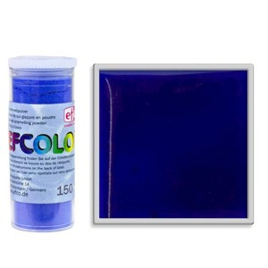 Σμάλτο Μετάλλου Efcolor 150ºC - Blue Transparent - 10ml